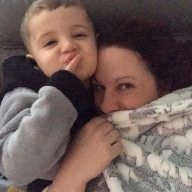Lucas and Mummy pre bullying