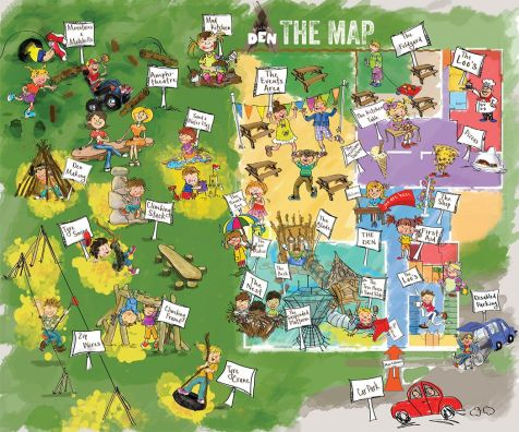 William's Den Hull Map