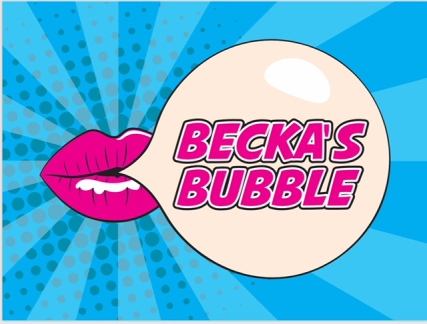 blogger profile beckasbubble logo
